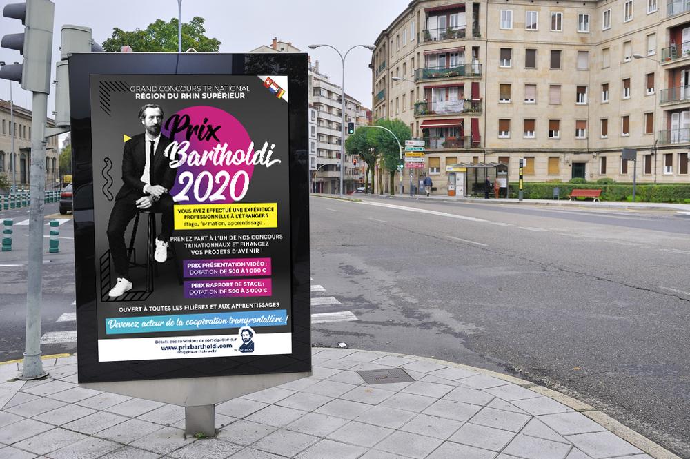 mock-up Prix Bartholdi Colmar